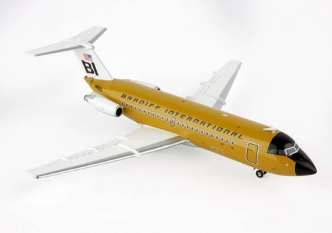SALE! Braniff Bac 111-200 N1550 (Orchre) Jc Wings JC2187 scale 1:200