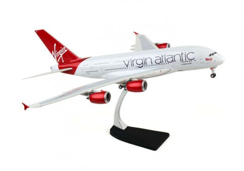 Virgin Atlantic Airbus A380 Reg# G-VAA Eagle/Phoenix 100010 Scale  1:200