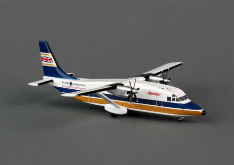 British Caledonian Shorts 360 G-BKZR XX2535 Jc wings JC2BCA535 Scale 1:200