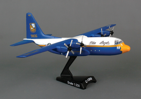 Blue Angels C-130 Fat Albert by Postage Stamp Models PS5330-2 scale 1:200