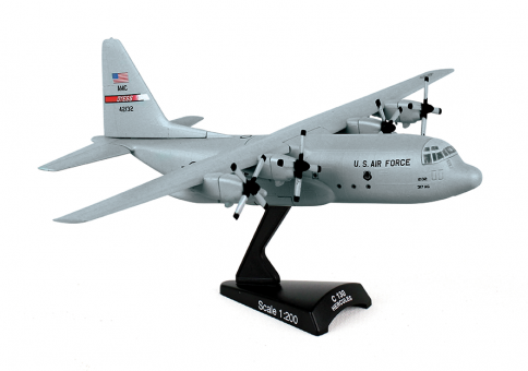 US Air Force C-130 Transport by Postage Stamp Models PS5330 scale 1:200