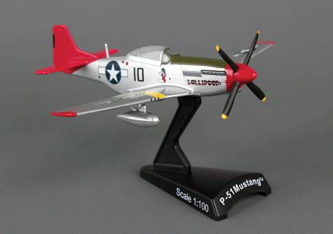 "P-51D Mustang Tuskegee ""Lillipop"" by Postage Stamp Models PS5342-7 scale 1:100"