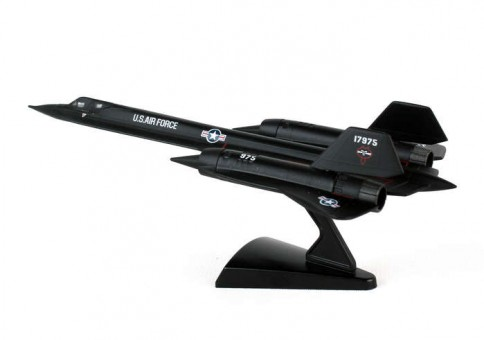 US Air Force SR-71 Blackbird by Postage Stamp Models PS5389 1:200
