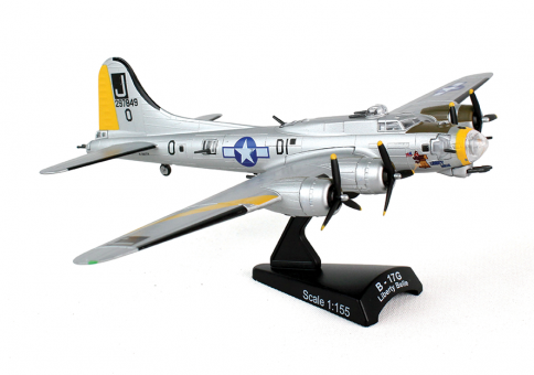 "B-17 Flying Fortress ""Liberty Belle"" by Postage Stamp Models PS5402-2 1:155"