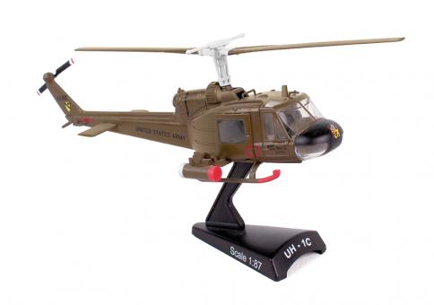 Postage Stamp die-cast display models collection UH-1C Huey by Postage Stamp Models PS5601 1:87