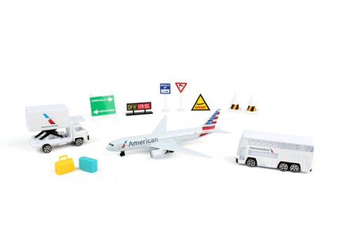 American Airlines Play Set w/ New Livery RT1661-1
