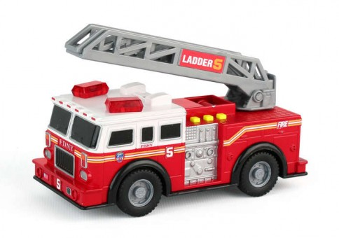 Fire Department of New York (FDNY) Mighty Fire Truck w/ Lights & Sound RT8735