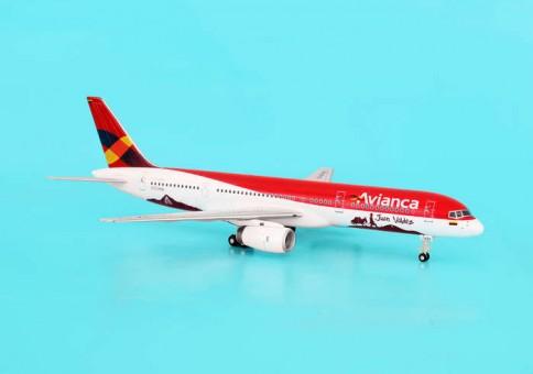 Avianca Boeing B757-200 New Color Juan Valdez N522NA