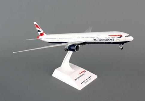 British Airways Boeing 777-300er w/ Gear Reg# G-SETC Skymark SKR661 Scale 1:200