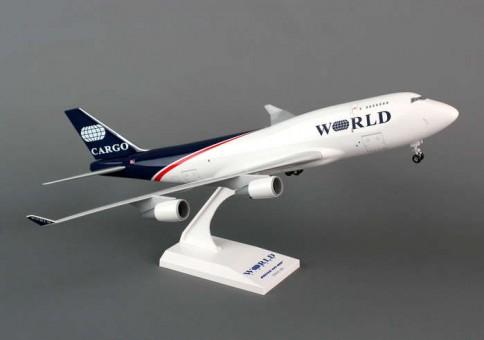 Skymarks World Airways 747-400BCF W/Gear 1:200 Scale
