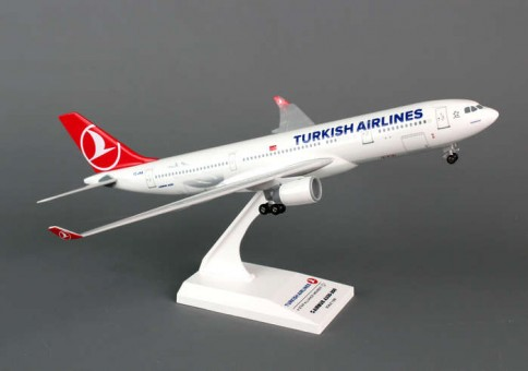 Turkish A330-200 w/gear New lIvery A330-200 SKR743 1:200