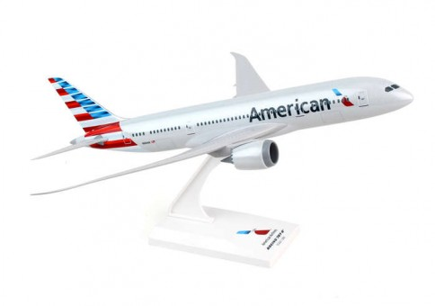 American Boeing 787-8 Dreamliner With Stand Skymarks SKR827 Scale 1:200
