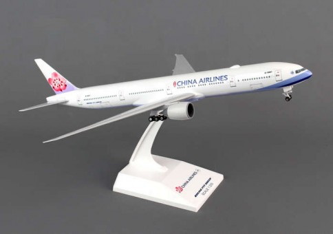 China Airlines 777-300ER w/gears and stand by Skymarks SKR829 scale 1:200