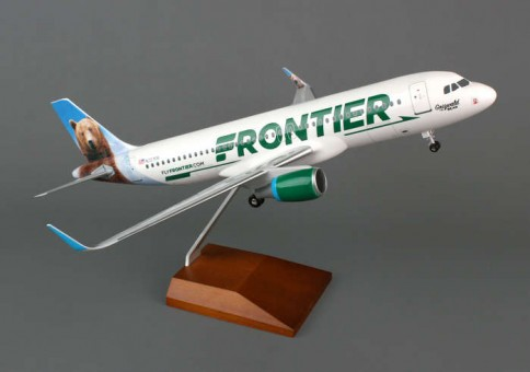 SKR8319  frontier A320skymarks scale model 100