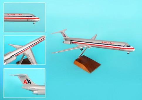 Skymarks American MD-80 1/100 W/WOOD Stand & Gear SKR8601 Scale: 1:100  Item: SKR8601