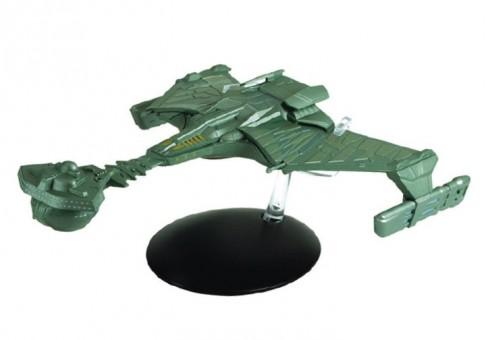 Klingon Battle Cruiser Star Trek Die-Cast by Eagle Moss EM-STSP13