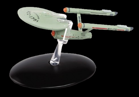 U.S.S. Enterprise NCC-1701 Star Trek Universe EagleMoss Die-Cast EM-ST0050
