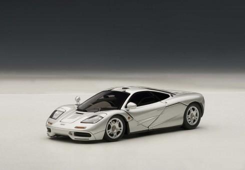 McLaren F1 Magnesium Silver AUTOart 56001 die-cast model 1:43
