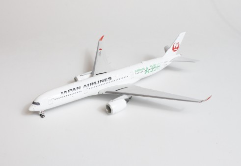 Green JAL Japan Airlines Airbus A350-900 JA03XJ Phoenix 04279 scale 1400