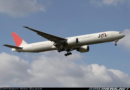Aero 500: JAL Japan Airlines B777-346/ER JA733J  NC 1:500 Scale
