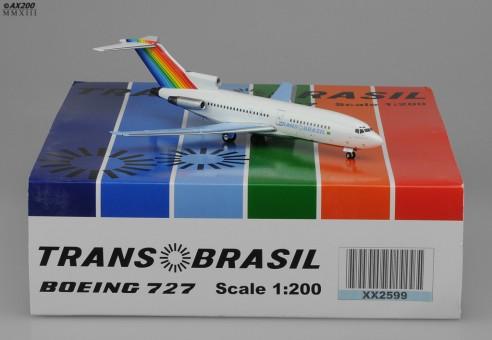 Trans Brasil B727-100 Light Blue Wings PT-TYK JC2TBA599