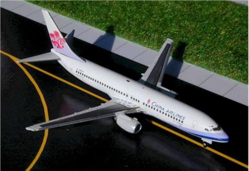 China Airlines B737-800 Reg# B-18608 Gemini Jets GJCAl124 1:400