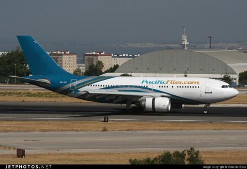 Pacific Flier Airbus A310-300 CS-TEI AeroClassics AC19218 scale 1:400