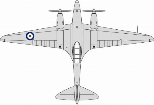 RAF De Havilland DH.88 Comet – K-5084  Martlesham, 1936 Oxford 72COM004 Scale 1:72