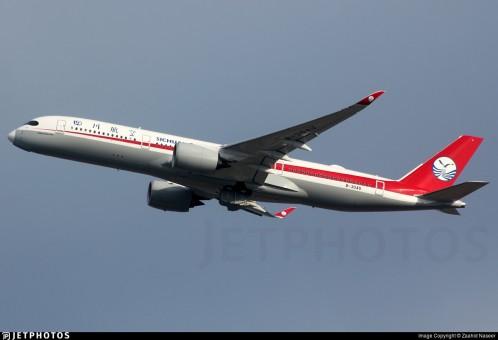 Flaps Down Sichuan Airbus A350-900 B-304U 四川航空 Jc JC4CSC044A 1:400