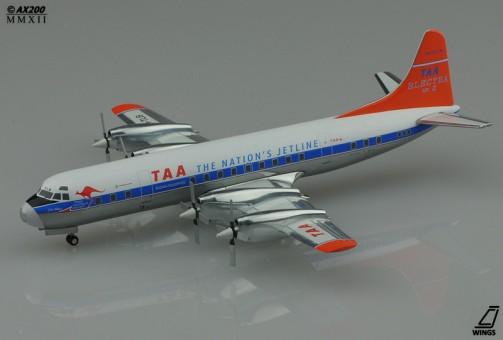 "SALE! TAA Trans Australia L-188 VH-TLB ""Orange Tail""  JCWings 1:200"