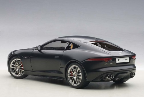 Jaguar F-Type 2015 R Coupe Matt Black AUTOart 73652 Scale 1:18