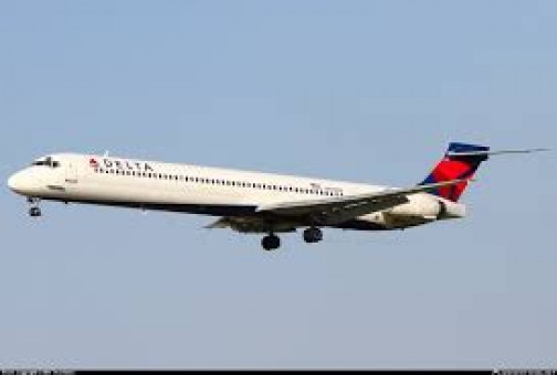 Delta MD-90 New Livery LP50217 Scale 1:200
