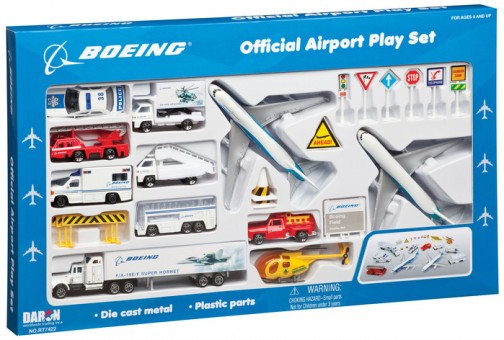 Boeing 30 Piece Official Play Set RT7472