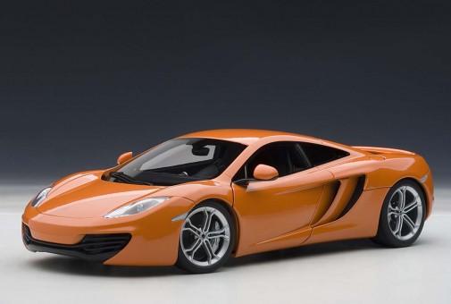 SALE! McLaren MP4-12C, 76006, Metallic Orange 1:18