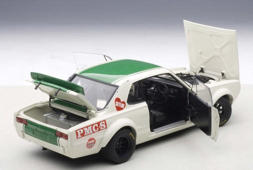 Nissan Skyline GT-R Racing #8 1971 Japan GP 2nd Place AUTOart 87177 1:18