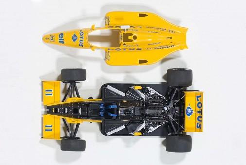 Lotus 99T Honda F1 Japan GP 1987 S. Nakajima #11 Composite 88726 1:18
