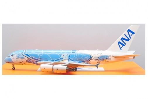 "ANA All Nippon Airbus A380 JA381A blue sea turtle ""Flying Honu Lani"" JC EW2388005 scale 1:200"