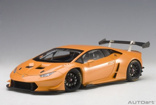Pearl Effect Orange Lamborghini Huracan Super Trofeo 2015 AUTOart 81558 1:18