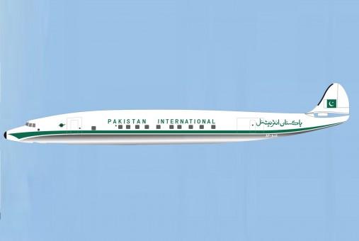 PIA Pakistan International Lockheed L-1049 Constellation AP-AJZ Aeroclassics Western Models WM219918 scale 1:200