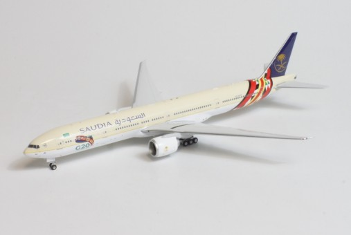Saudi Arabian G20 Boeing 777-300ER HZ-AK42  die-cast Phoenix 04404 scale 1:400