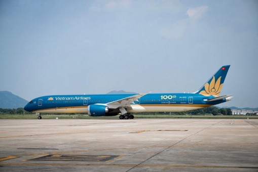 Vietnam Airlines (100th) Boeing 787-10 Dreamliner VN-A873 Phoenix 04298 die-cast scale 1:400