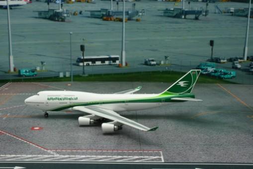 Iraqi Airways Boeing B747-400 Reg# YI-ASA Phoenix 11151 Scale 1:400