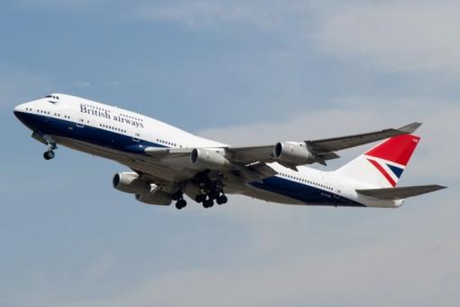 British Airways Boeing 747-400 100 Years G-CIVB Phoenix 04296 1:400