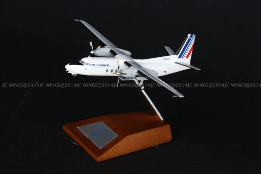 die- cast scale model 1:200 xxx2679 1/200 Air France F-27-500 RegF-BPUF With Stand JC wings