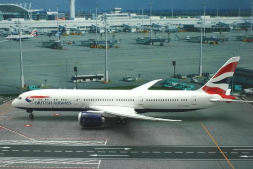 British Airways Dreamliner 787-9 Reg# G-ZBKA W/Stand Phoenix Models 20115 1:200