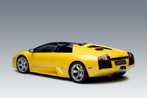 Metalic Yellow Lamborghini Murcielago Roadster Limited Edition 12081 AUTOart Scale