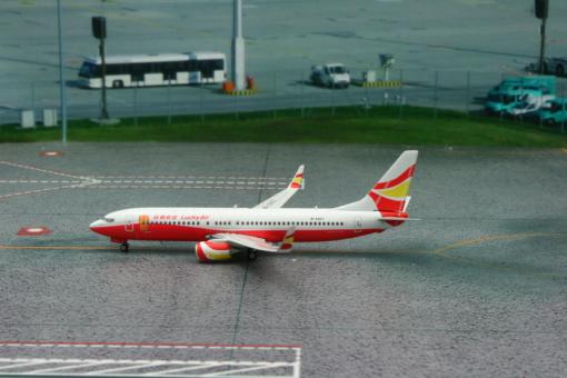 Lucky Air B737-800 祥鵬 Winglets Reg# B-5407 Phoenix 11186 Scale 1:400