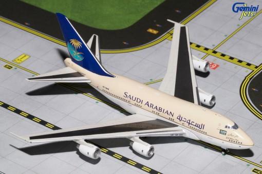 Saudi Arabia Boeing B747SP Reg# HZ-HM1B Gemini Jets GJSCA1639 Scale 1:400