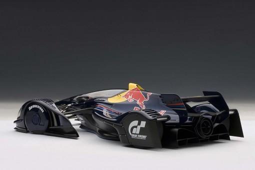 Sebastian Vettel Red Bull X2010 Black AUTOart 18108 Scale vettel
