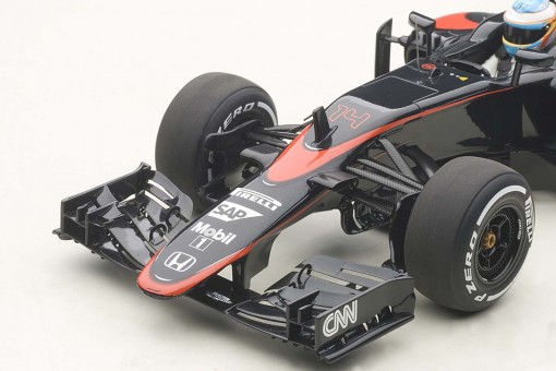 Fernando Alonso F1 #14 McLaren 2015 With Figurine MP4-30 Spain 18121 1:18